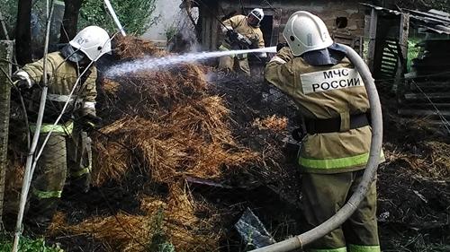 В Крыму сухая растительность горит всё чаще