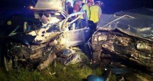 ДТП в районе пгт. Советский: машины разбиты вдребезги. Один человек погиб, трое пострадали