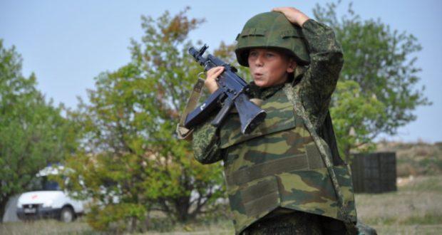 Военно-спортивная игра «Граница» для крымских школьников