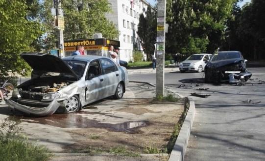 ДТП в Крыму и Севастополе 2 мая: «Н» - Невнимательность