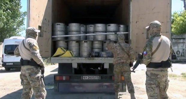 ФСБ «прикрыла лавочку» крымских бутлегеров
