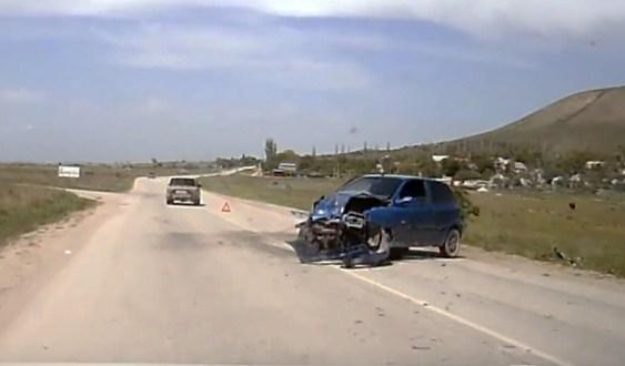 ДТП на дороге «Феодосия-Коктебель». Работали спасатели