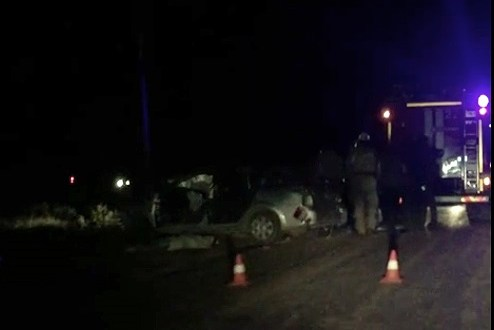 Жуткое ДТП в Сакском районе Крыма: один человек погиб, еще шестеро ранены