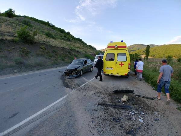 ДТП на дороге «Судак – Грушевка». «Лада» против «немца»