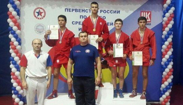 Крымские самбисты завоевали две медали первенства России