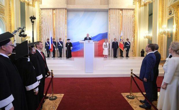 Сергей Аксёнов о своих впечатлениях после церемонии инаугурации Президента России