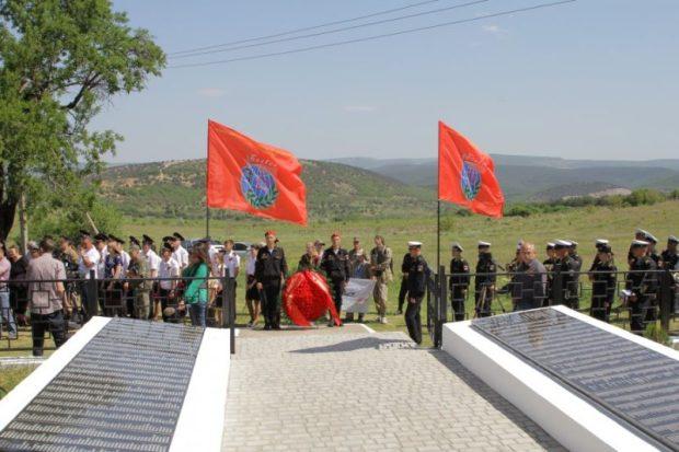 Под Балаклавой открыли Братское кладбище воинов Приморской армии