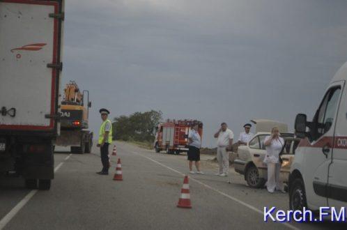 ДТП возле Крымского моста. Есть пострадавшие