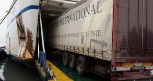 Керченская паромная переправа упрощает перевозки грузового транспорта