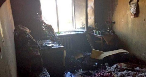 В Севастополе на пожаре спасли пожилую женщину и эвакуировали 9 человек, в том числе 4 детей