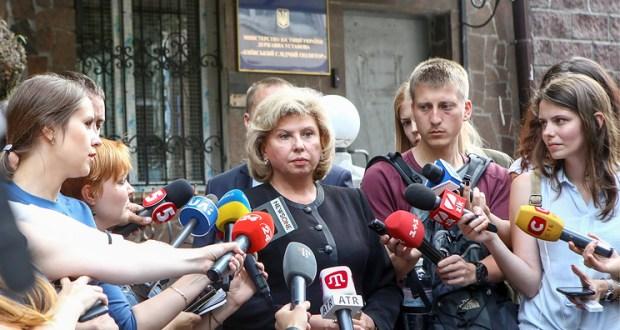 Татьяну Москалькову не пустили в СИЗО Киева на встречу с осужденным Максимом Одинцовым