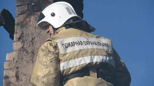 В селе Кипарисное, под Алуштой, ночью горел дом
