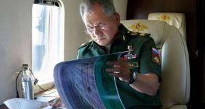 Сергей Шойгу летит в Крым