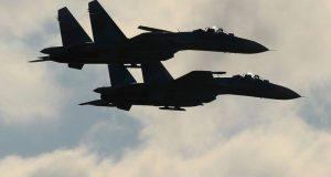 Авиация Южного военного округа уничтожила в небе над Крымом самолеты условного противника