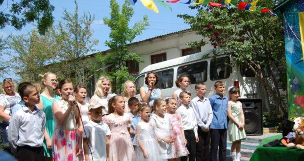 День защиты детей там, где защита нужна больше всего. Праздник от севастопольского «Добровольца»