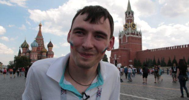 Болельщик из Крыма побывал на ЧМ-2018. Мечту парня исполнили журналисты