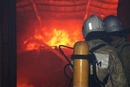 Ночной пожар в Бахчисарайском районе. Без крова осталась семья из пяти человек