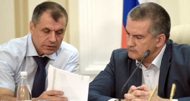 Сергей Аксёнов и Владимир Константинов об «очередной порции» санкций