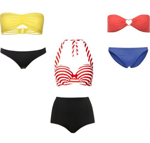 Выбор купальника с учётом типа фигуры