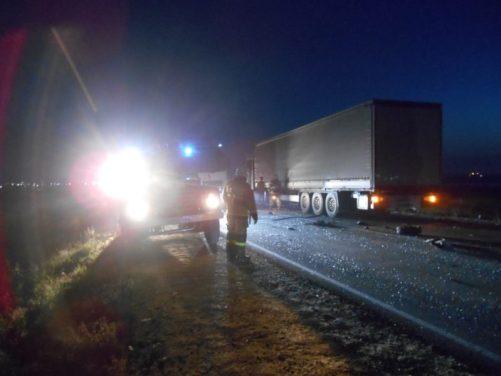 Вечернее ДТП на дороге «Феодосия – Керчь». Один человек погиб, еще двое - ранены