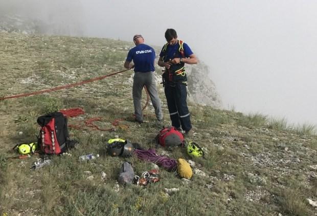 В течение суток сотрудники «КРЫМ-СПАС» трижды оказали помощь в горно-лесной зоне