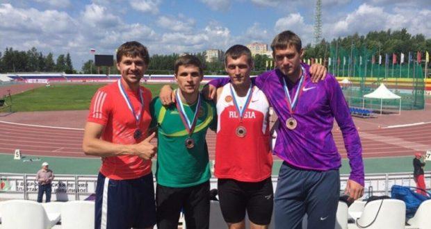 Крымские легкоатлеты завоевали три медали в командном чемпионате России