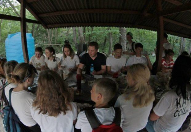 На Тороповой даче - Детский слёт Севастополя