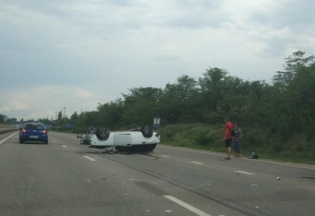 Хроники аварийной субботы, 28 июля: сбитый велосипедист, «лобовое» под Севастополем, «перевертыш»