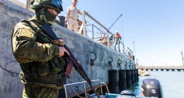 В Азовском море и Керченском проливе прошли учения силовиков