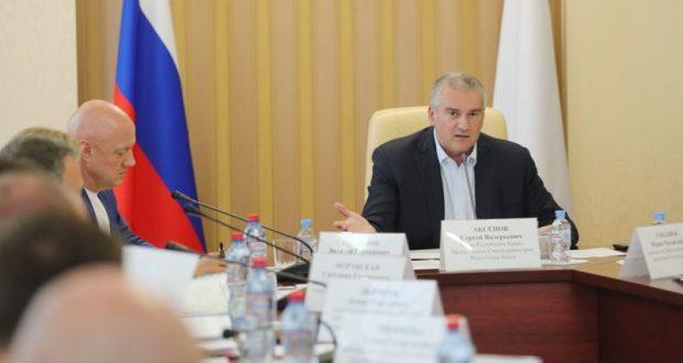 Сергей Аксёнов: «Должен быть контролёр на каждом объекте ФЦП»