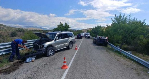 ДТП на трассе Судак-Алушта: пострадали 11 человек, из которых пятеро - дети