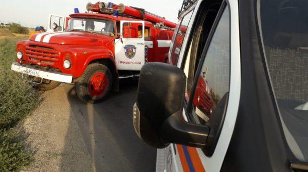 ДТП в пгт. Приморский, под Феодосией: пострадали восемь человек
