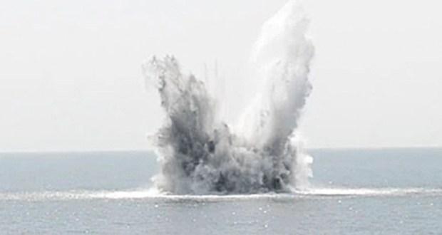 На земле и в воде… взрывают бомбы в Крыму