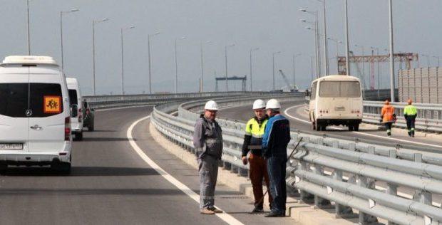 Евросоюз ввел санкции в отношении компаний, строящих Крымский мост и трассу «Таврида»