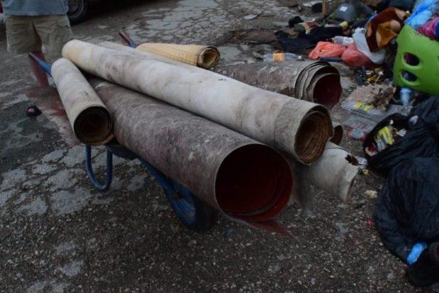 В Симферополе продолжается борьба с несанкционированным сбросом строительного мусора