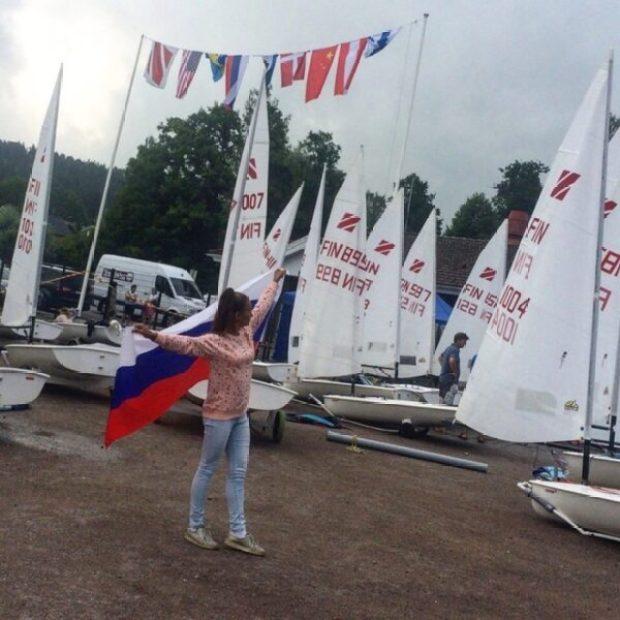 Марина Петрова из Севастополя - шестая на первенстве мира по парусному спорту