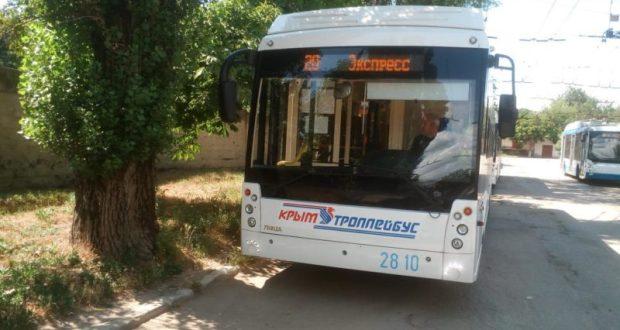 Отменены ночные рейсы троллейбуса №20 к новому терминалу аэропорта «Симферополь»