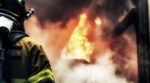 В Симферополе на пожаре погиб мужчина