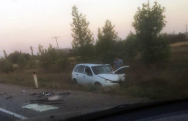 ДТП на трассе «Симферополь – Николаевка». ВАЗам не хватило ширины дороги
