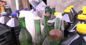 В крымском поселке Николаевка торговали поддельным алкоголем