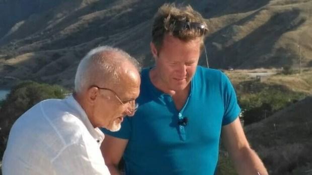 В Крым приехал британский телеведущий, шоумен Джон Уоррен
