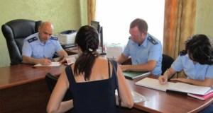 Прокурор Республики Олег Камшилов поработал в северном Крыму