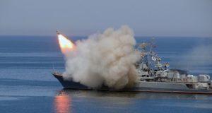 Малые противолодочные корабли Черноморского флота провели ракетные стрельбы