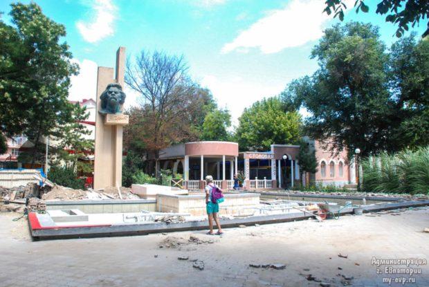 В Евпатории откроют еще один городской фонтан