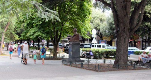В Ялте благоустроили городскую площадь