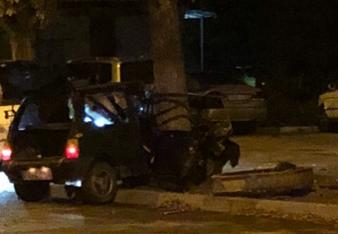 Ночное ДТП в Севастополе. Водитель «Оки» «родился в рубашке»