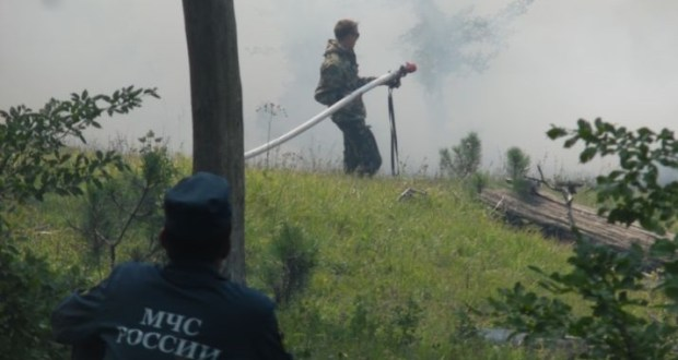 Второй пожар в урочище Уч-Кош, в горах над Ялтой полностью потушен