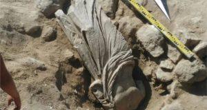 В Керчи археологи обнаружили античную мужскую статую