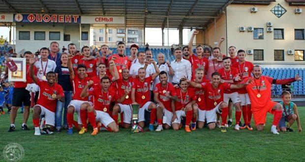 Суперкубок Крымского футбольного союза у «Крымтеплицы» из Молодежного