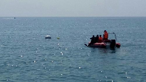 В Евпатории обезвредили донную мину весом 250 кг. Нашли снаряд туристы